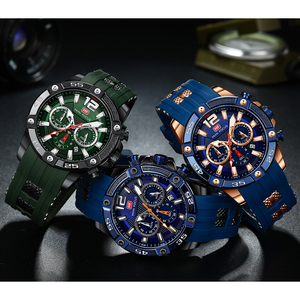 Image 5 - Mini foco moda esporte relógio masculino à prova dwaterproof água dos homens relógios marca superior de luxo quartzo relogio masculino hombre pulseira silicone