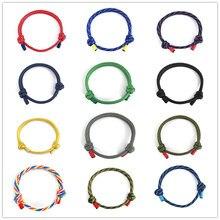1 шт. 550 выживания Паракорд регулируемый браслет для женщин мужчин аварийный парашют веревка плетеный шнур Спорт на открытом воздухе ювелирные изделия подарок