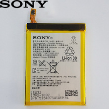Sony 100% Original 2900mA LIS1632ERPC Battery For Sony Xperia XZ XZs F8331 F8332 Phone High Quality Battery+Tracking Number case for sony xperia l1 x xa ultra case wallet leather cover for sony xperia xz xr xz1 xz premium compact business style case