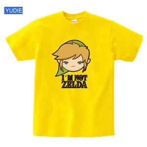 Kids Tshirt Zelda-Link Short-Sleeve Baby-Boys Cotton Children Summer The Legend Game