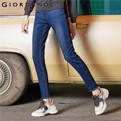 Giordano женские джинсы из джинсовой ткани женские джинсы со средней талией узкие джинсы Сальса Feminina 05429337