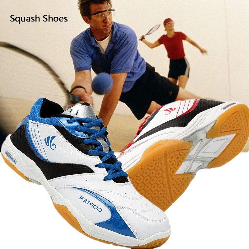 Squash Shoes Badminton Shoes Professional Plus Size Outdoor Antiskid Breathable Men Women Baseball Shoes