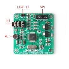 VS1053 dekoder dźwięku DAC odtwarzacz MP3 wzmacniacz głośnika dekodowanie Audio płyta dźwięk cyfrowy moduł DAC ze wzmacniaczem nagrywania SPI