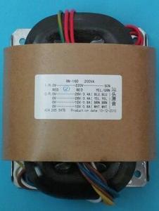 220V 200W R сердечник трансформатора выход: 24V + 24V 12V + 12V