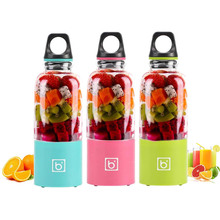 500ML USB Rechargeable Portable Electric Fruit Juicer Cup Vegetables Juice Maker Bottle Juice Extractor Blender Mixer Dropship 500ml electric juicer cup usb rechargeable vegetables fruit juice maker bottle juice extractor blender mixer squeezers reamers