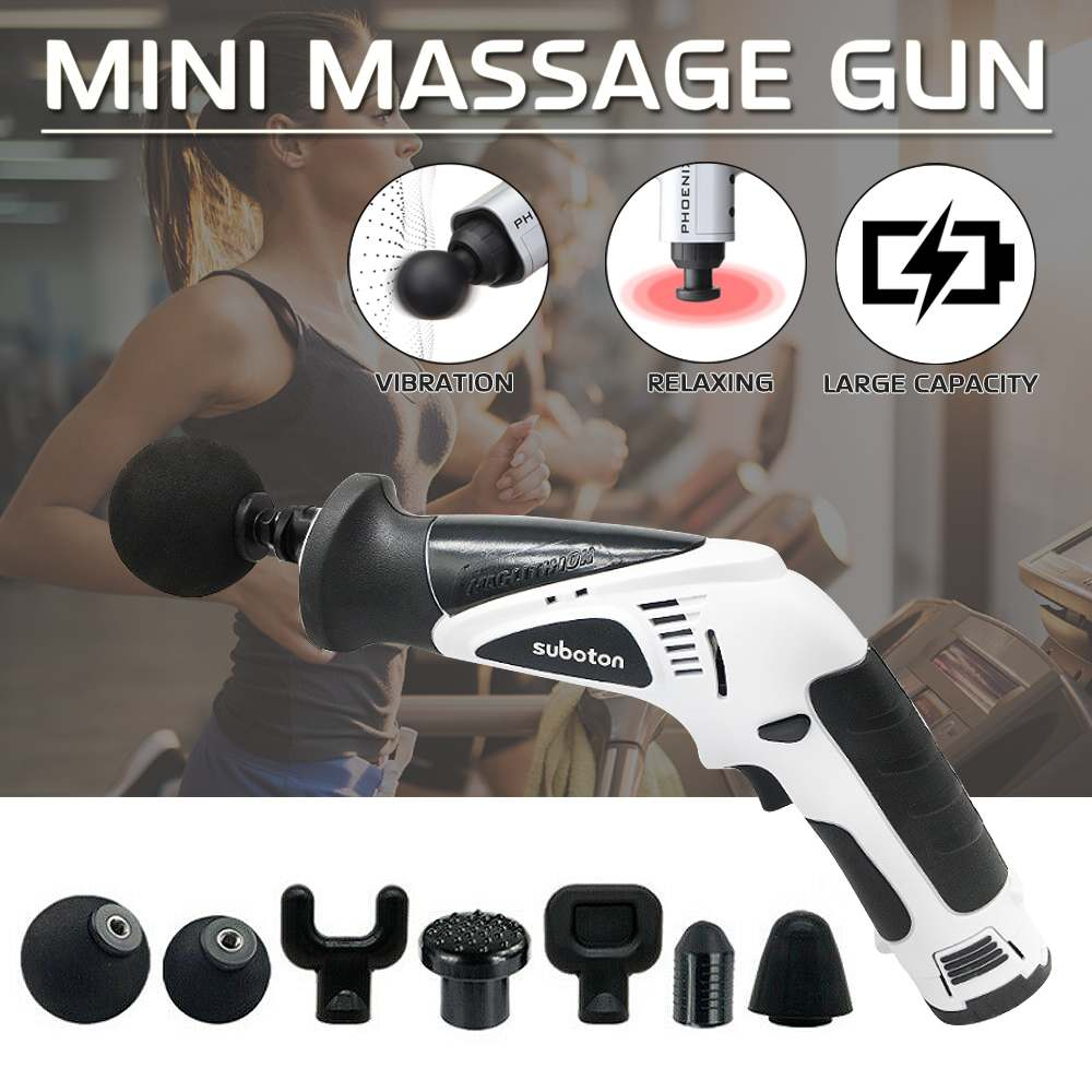 110V 240V Deep Percussion Massage Electric Massager Muscle Vibrating Relaxing Machine Therapy