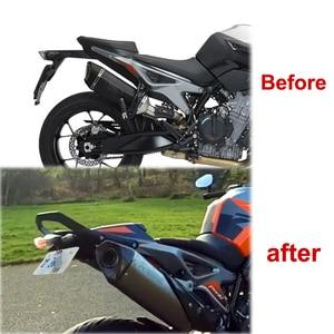 Image 5 - KTM 790 Duke 2018 2019 2020 890 Duke R 2020 오토바이 리어 테일 깔끔한 펜더 엘리 미네 이터 키트 라이센스 플레이트 홀더 브래킷