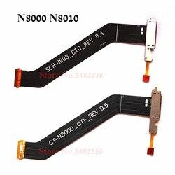 Oryginalny stacja dokująca usb Port taśma do samsunga GT-N8000 N8010 N8000 wtyczka ładowarki z mikrofonem zamienna płyta