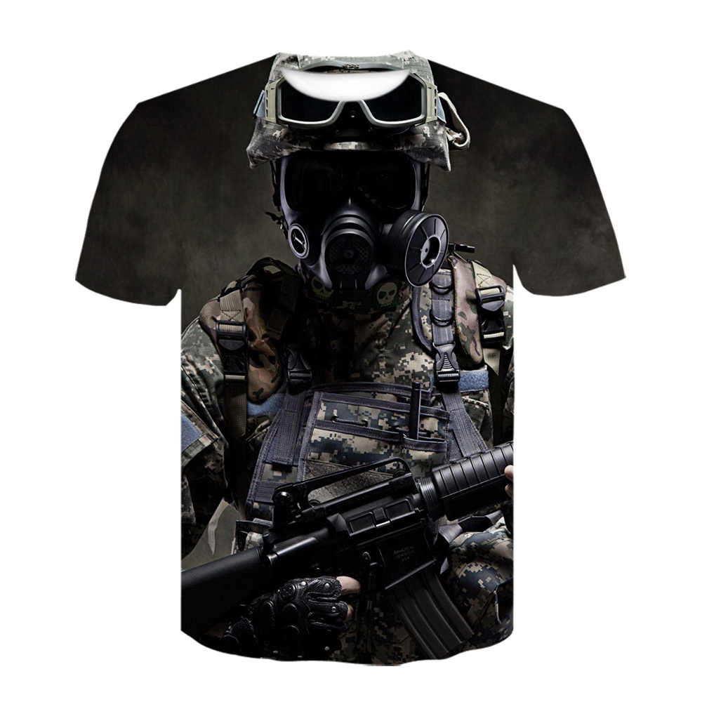 Ghost Recon: wildlands 3D Print Tshirt Game Harajuku Korte Mouw Pubg Oversized T-shirt Fashion Zomer Off Whit T-shirt Cosplay