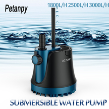 цены 25/35/60W New Home Submersible Water Pump Submersible Waterfall Silent Fountain Pump for aquarium fish tank Garden Fountain 220V