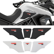 For TRIUMPH TIGER 900 GT PRO RALLY TIGER900 Tiger 900 Motorcycle Non-slip Side Fuel Tank Stickers Waterproof Pad Rubber Sticker