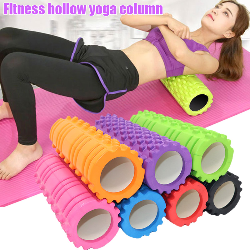 New Fitness High Density Foam Roller Exercise Back Muscle Pilates Yoga Training Massage Physiotherapy XD88