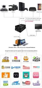 Image 5 - 4K HDMI USB 3,0 видеокарта для захвата видео, видеорегистратор для OBS vMix Wirecast Potplayer VLC, кодировщик, проигрыватель QuickTime, прямая трансляция