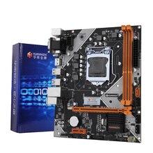 Материнская плата HUANANZHI B75 LGA 1155 для ПК i3 i5 i7, поддержка памяти ddr3