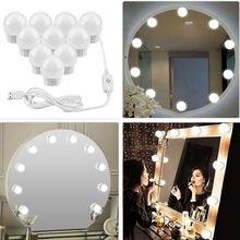 Светодиодная настсветильник лампа для макияжа комплект из 2