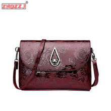 High Quality Patent Leather Women fashion Bag Ladies Cross Body Messenger Shoulder Bags Vintage Handbags 2018 Bolsa Feminina women messenger vintage bags high quality cross body bag pu leather mini female solid shoulder bag handbags bolsas feminina