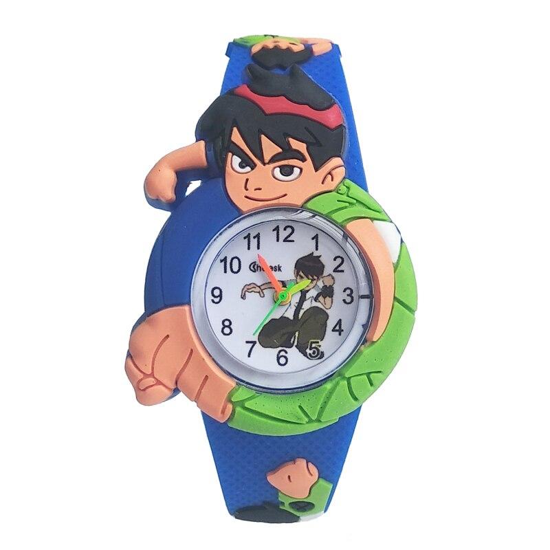 2020 New Kids Watches Life Waterproof Silicone Handsome Cartoon Baby Watch Boys Clock Fashion Men Children Electronic Watch Gift
