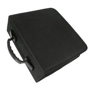 Image 1 - 1pc 320 דיסקים CD ארנק עור מפוצל נייד Dustproof גדול קיבולת CD קלסר CD מקרה תקליטור אחסון מחזיק DVD מחזיק