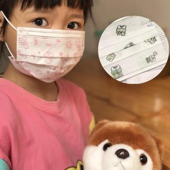 10-100pcs Disposable Masks For Children Aged 4-12 Child Face Mouth Mask Kid Non-woven 3-layers Cute Flu Hygiene Child Kids маска