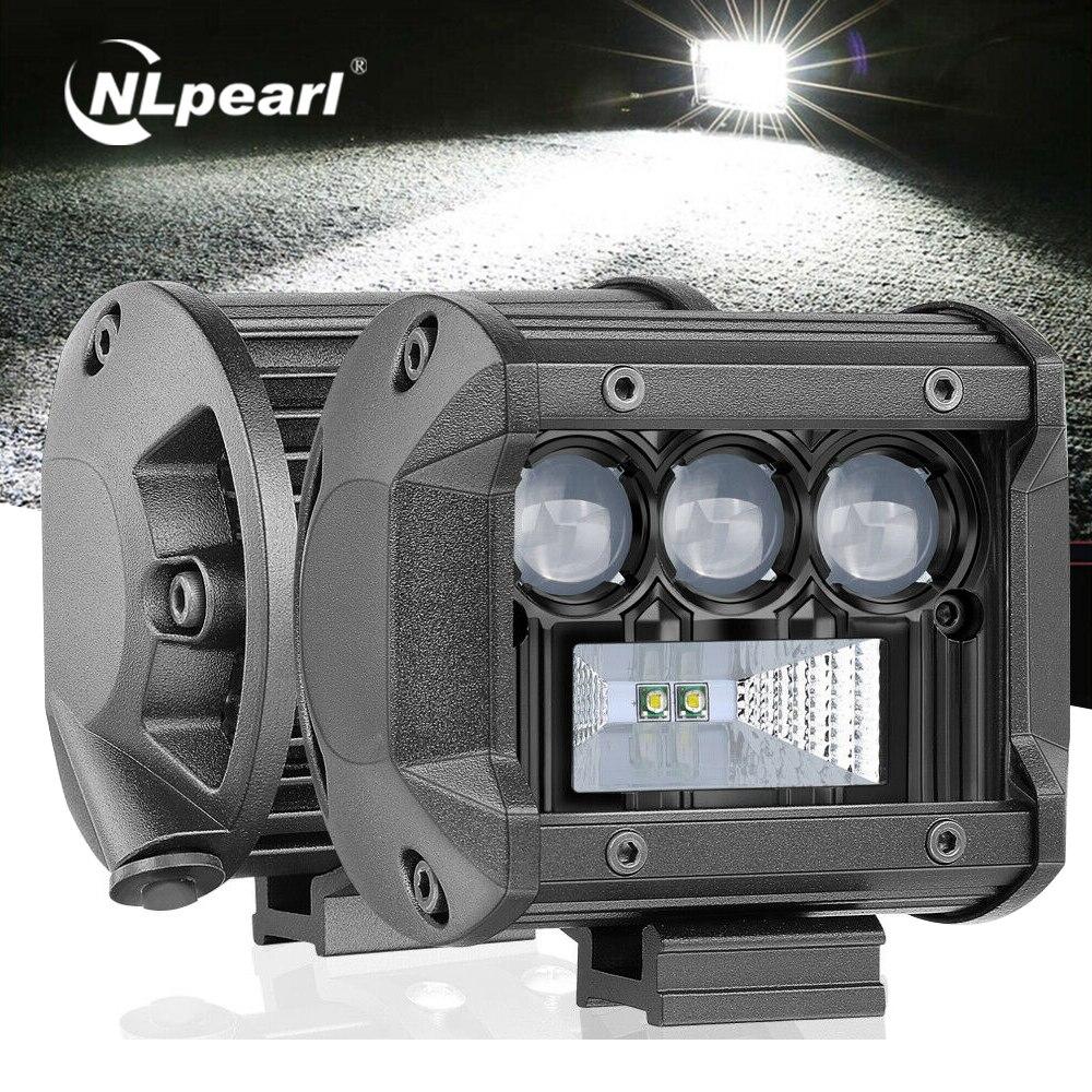 Nlpearl Led ışık çubuğu/çalışma ışığı Led çubuk 5D CREE 50W 100W 200W Offroad için çalışma ışığı açtı jeep 4x4 ATV kamyon traktör 12V 24V