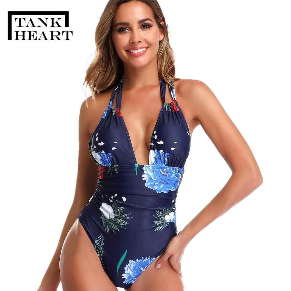 Print een stuk suits bodysuits one-stukken badpak Sexy Monokini Plus size Badmode Vrouwen Zwemmen Badpak Badpakken arena zwemmen