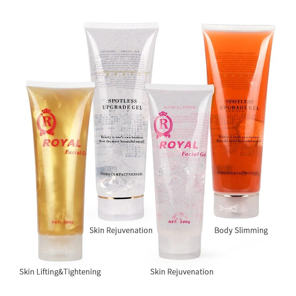 300ml Ultrasonic Gel RF&EMS Moisturizing Cream Inject Gel Massager Beauty Device Lifting Tighten Rejuvenation Body Slimming