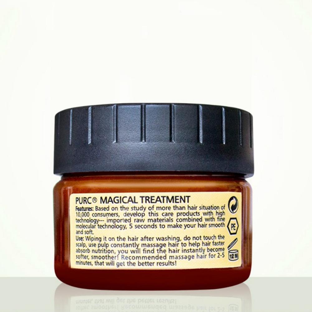 60 мл маска для волос для удаления волос 5 секунд лечение волос чудо-мягкое повреждение волос ремонт корня Q9A2