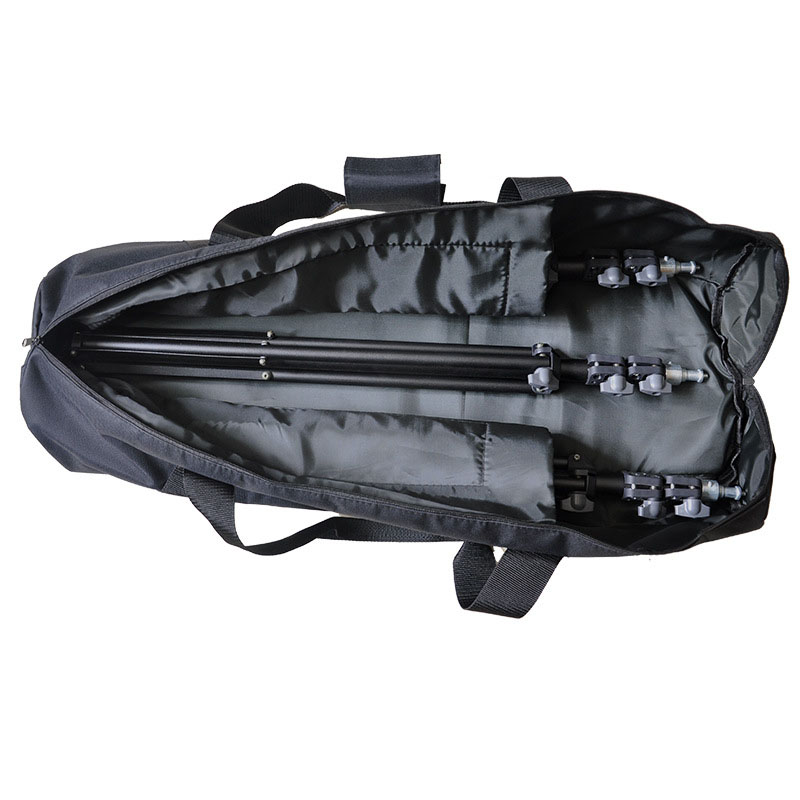 Case Light-Stand Carrying-Bag Photographic Black Tripod Package 80/90/100/120cm Padded