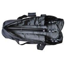 Черный стеганый светильник на открытом воздухе 80/90/100/120 см, штатив, сумка для переноски, чехол, фотографический светильник, подставка, посылка, сумка для переноски