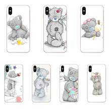 For Xiaomi Redmi mi10 lite Pro Note 9 PRO Max 9s Mi9 K30 K20 Pro 5G TPU Protective Cover Case Lovely Teddy Bear Mobile(China)