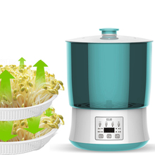 Intelligent Bean Sprouts Machine Home Barrel Soybean Sprouts Green Bean Sprouts Self Made Small Nursery Two Floors Three Floors free shipping multi function bean sprouts machine automatic household intelligent bean sprouts machine bean tooth machine