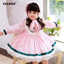 Детское платье для девочек вечерние платья детей осеннее Милое