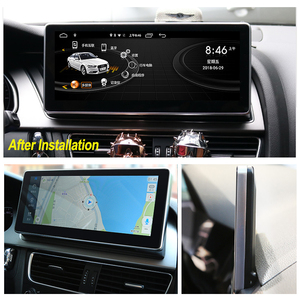 Image 2 - Android 10 4+64G Car Multimedia Player For AUDI A4 B8 8K 2008~2016 MMI 2G 3G Android Display Radio GPS Navigation Touch Screen