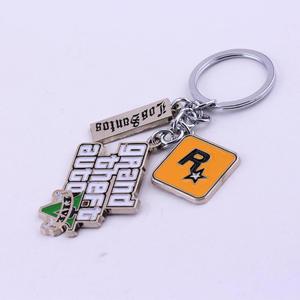 Image 3 - GTA5 Car Keychain Grand Theft Key Ring Auto Key Chain for Fans PS4 Xbox PC Rockstar Key Ring Holder 4.5cm