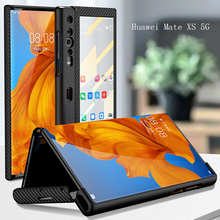 Foldable Case For Huawei Mate Xs / X 360 Full Protective Case with Tempered Glass film For Huawei Mate XS 5G Cover Light funda