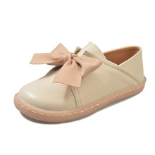 купить COZULMA Women Butterfly-Knot Loafers Slip-on Casual Shoes Fashion Sneakers Female Non-slip Flat Shoes Size 34-40 дешево
