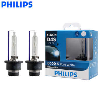 Philips D4S 42402WX 35W Ultinon HID 6000K Cool Blue Xenon White Light Auto Upgrade Headlight Lamps Flash Quick Start, Pair - DISCOUNT ITEM  30 OFF Automobiles & Motorcycles