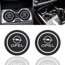 Coaster Cup-Holder Car-Logo Seat Ibiza Ateca Leon Interior-Decoration Silicone for 6j