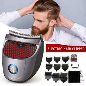 Mini Afeitadora eléctrica inalámbrica de autoservicio, cortadora profesional de pelo, máquina de corte de barba, Barbero, maquinilla de afeitar para hombres, herramientas de estilismo