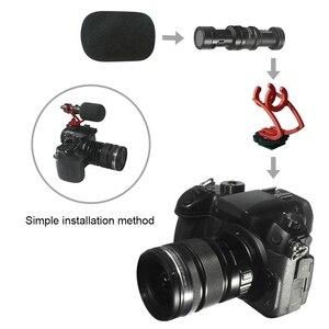 Image 5 - Лучшие предложения COMICA CVM VM10II видео Запись микрофон на камеру/телефон микро телефон для Canon Nikon Sony DSLR видеокамера для IPhone Sam