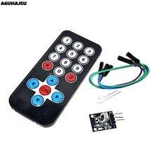 1set Infrarot IR Drahtlose Fernbedienung Modul Kits DIY Kit HX1838 Für Arduino Raspberry Pi