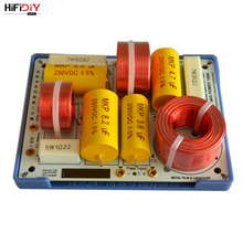 HIFIDIY LIVE  AS 23C 2 Way 2 speaker ( tweeter + bass ) Unit HiFi HOME Speakers audio  Frequency Divider Crossover Filters