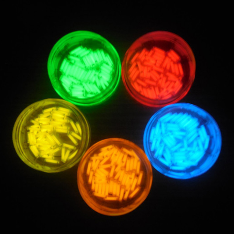 EDC 1 PCS Tritium Gas Tube 1.5*6mm Self Luminous 15 Years Of High-tech Products EDC Multi-color Selection Emergency Lights