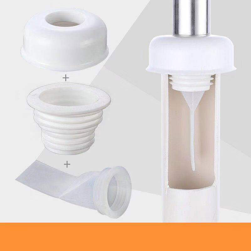 Deodorant White Floor Drain Silicone Seal Drain Core Bathroom Balcony Sewer Insect Control Strainer Anti Odor Filter Trap Siphon