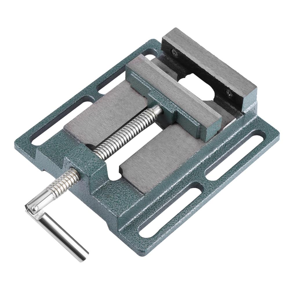 4inch Opening Size Drill Press Vise Milling Drilling Clamp Machine Vice Tools Heavy Duty Accessory 2019 New