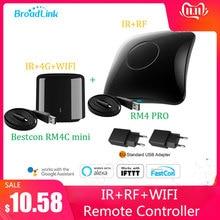 2020 برودلينك RM4 برو/بيستكون RM4C العالمي المصغر IR RF متوافق اليكسا جوجل مساعد الصوت