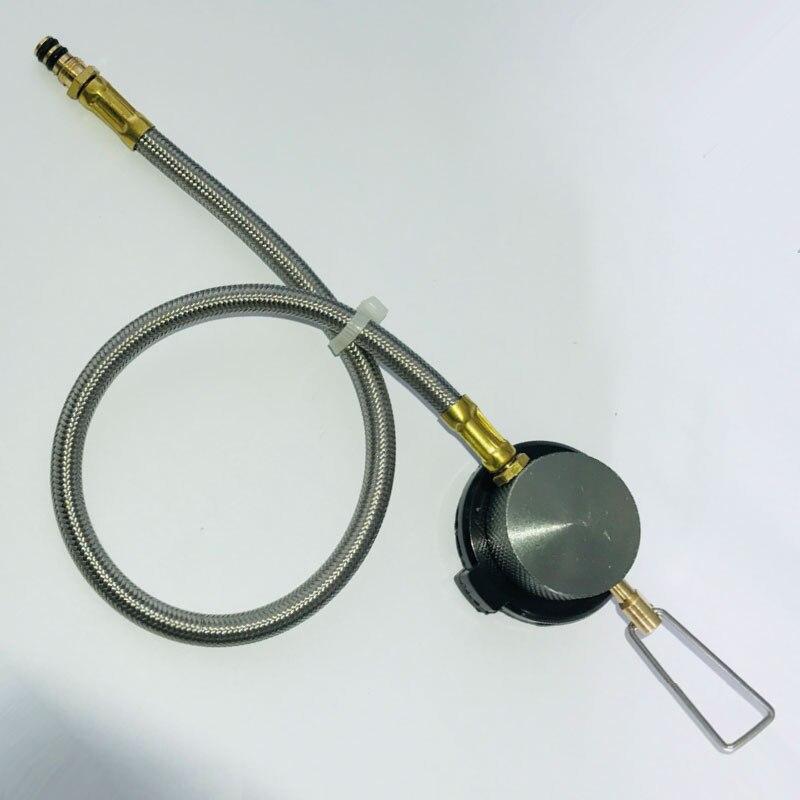 Furnace Werkzeug Tragbar Schlauchanschluss Außen Gas Ofen Adapter Regler Camping