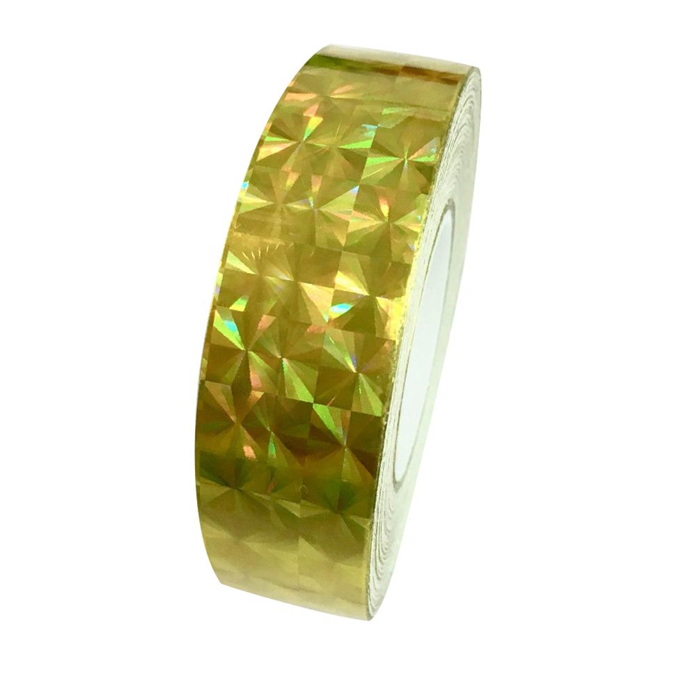 1.2cm X 18m Adhesive Tape Square Glitter Sparkles Holographics Prism Lure Tape For Gift Packing Washi Tape декоративный скотч