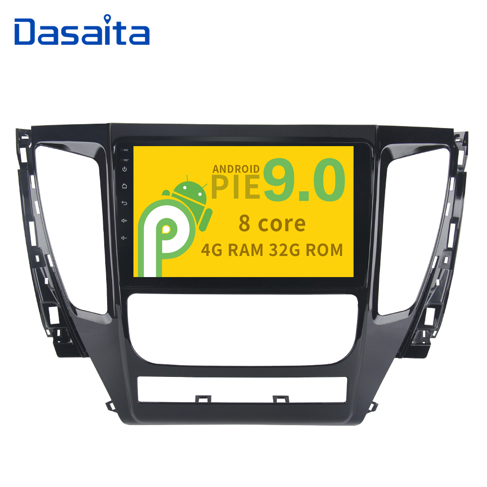 9 HD Digital Capacitive Touch Screen Android 9 0 GPS for Mitsubishi Pajero Sport 2017 with