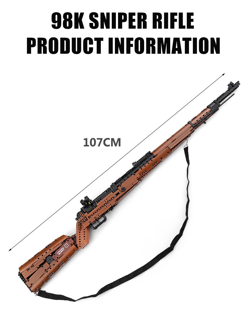 MOULD KING 14002 The Mauseres 98K Sniper Rifle